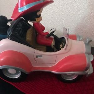 Betty Boop Other - Rare betty boop riding car figurine